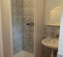 Domek z łazienką - łazienka