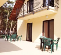 Villa Dolce Vita Mrzeżyno - Taras między pokojami