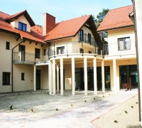 Villa Dolce Vita Mrzeżyno - widok na kolumnadę