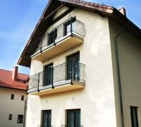 Villa Dolce Vita Mrzeżyno - widok na prawe skrzydlo